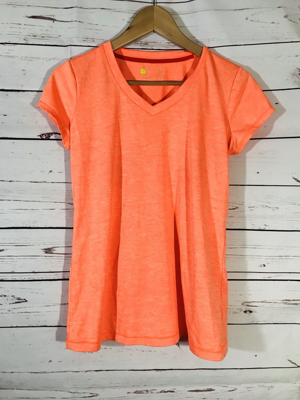 9a3adb9f8706e  Women – Xersion Womens Work Out Shirt Size S Orange Top Stretch JCPenney