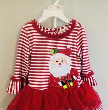Rare Editions Christmas Dresses.New Christmas Toddler Girls Rare Editions 2pc Santa Outfit